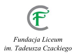 Logo Fundacji Liceum im. Tadeusza Czackiego