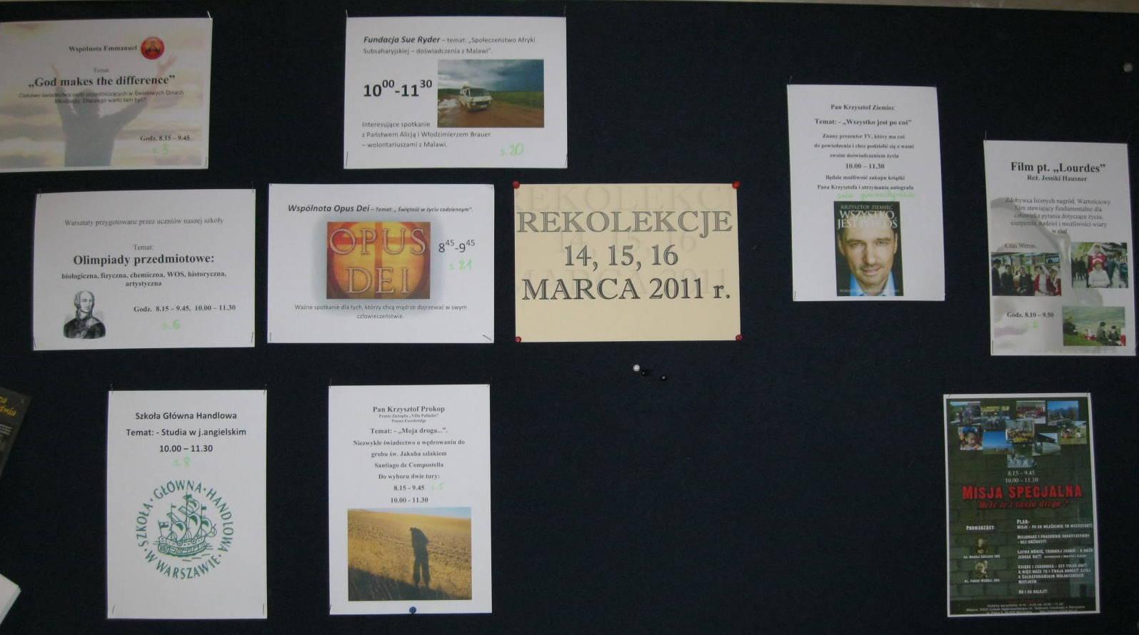 plakaty zwarsztatów